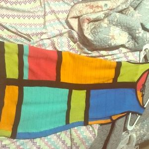 Multi color dress from forever21 size M